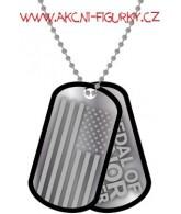 Medal Of Honor Warfighter vojenská známka s řetízkem