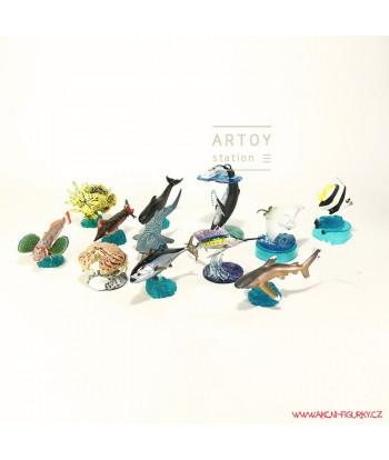 Mořští tvorové set 12 kusů 3-7cm