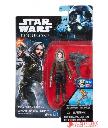Sergeant Jyn Erso Jedha Rogue One Star Wars Akční figurka 10 cm