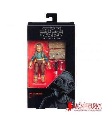 Star Wars Black Series Akční figurka Maz Kanata Episode VIII 15 cm