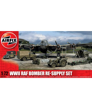 WW2 RAF BOMBER RESUPPLY SET - 1:72 - A05330