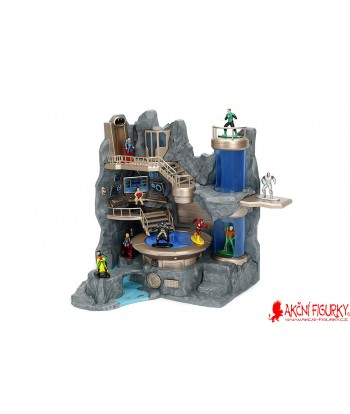 DC Comics Nano Metalfigs Batcave