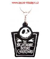 Nightmare Before Christmas - přívěšek na klíče gumový